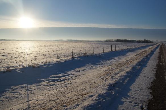 Sunrise in South Dakota