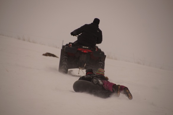 Sledding South Dakota style -